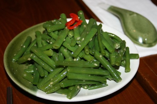 Green Beans at Baozi Inn