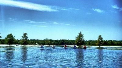 Lake Marion Paddling