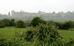 3. A misty view of Arundel Castle