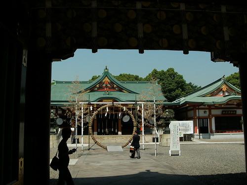 17 - Hie-Jinja Shrine - 20080613