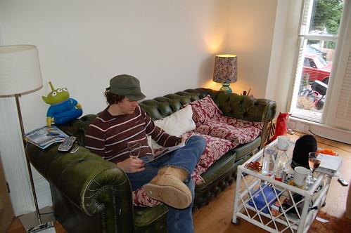 Alex Milway at leisure