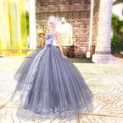 Sparkle Skye - Desire gown by you.