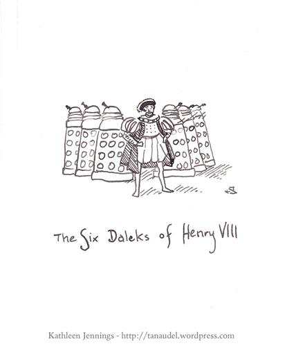 The Six Daleks of Henry VIII