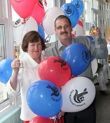 Lottery Winners Barbara and Michael Ayres