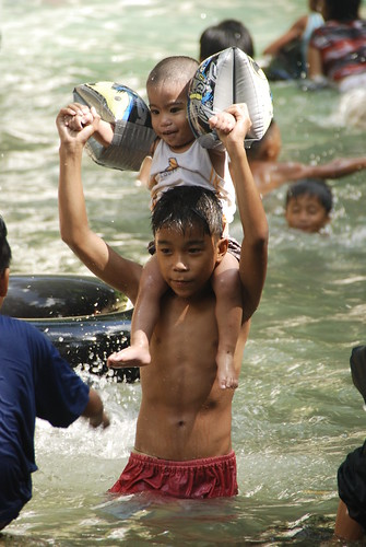 batlag water falls philippines children tanay rizal