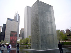 Chicago - Faces, Millennium Park