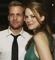 Gabriel Macht con la moglie Jacinda Barrett
