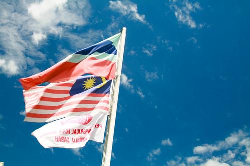 Flags of Sabah, Malaysia and spoiler(?) :D
