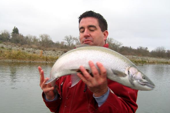 Fishing Bloopers -- Ralph's steelie