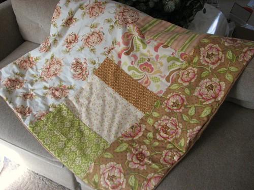 New lap quilt