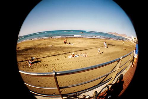 [LOMO FISHEYE] Playa de las canteras