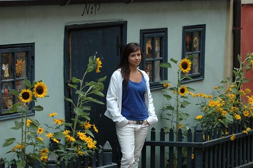 Andrea en el Callejón Dorado