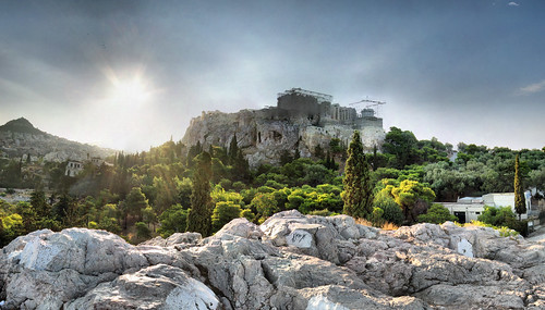 Athènes - Acropole - 11-08-2008 - 7h36