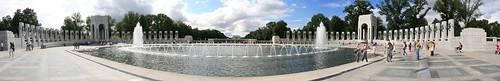 World War II Memorial, Washington DC Panorama by Gore Fiendus (Jerry Frausto)