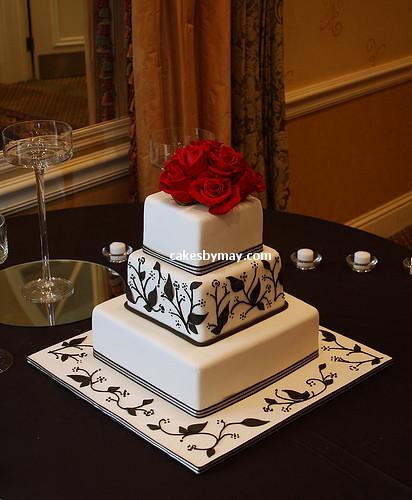 3162486791 4fae8ea41e Baú de ideias: Decoração de casamento preto e branco