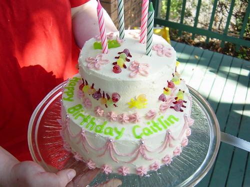 Bug wedding cake