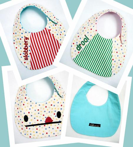 baby bibs (prototypes)