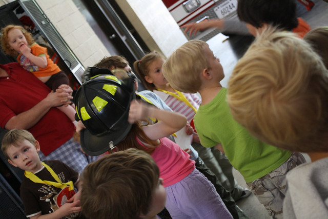 fire station field trip • preschool - 19
