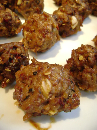 Spicy Lamb Meatball