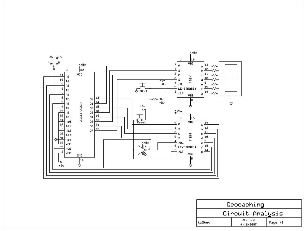 GC1CX57 Circuit Analysis (Final Exam) (Unknown Cache) in