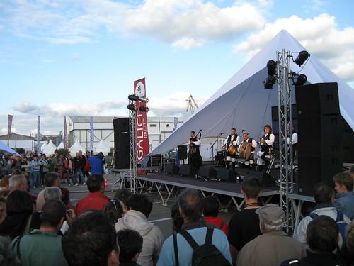 Brest 2008 : Concert au village de Galice