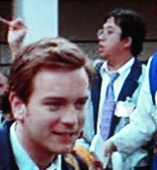 Me and Ewan McGregor in Rogue Trader