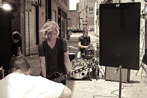 the rocket summer video shoot