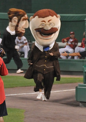 Teddy Roosevelt, Washington Nationals Presidents Race