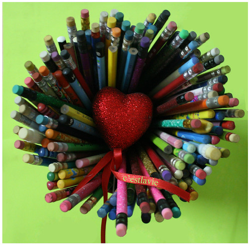 at the heart of pencils by you.