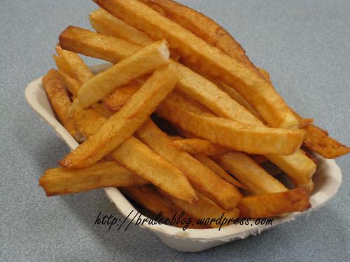 Pre-gravy fries