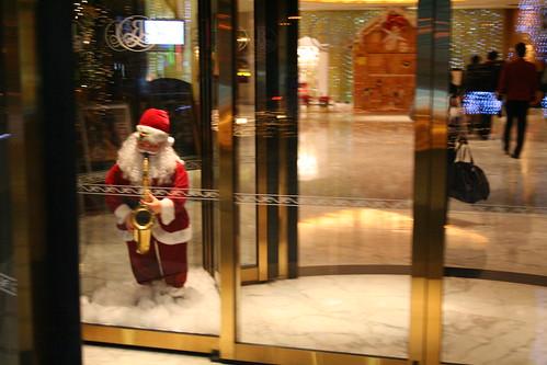 Lobby of Renaissance Hotel, Shanghai