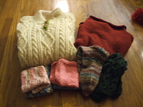 Christmas Knitting 2008