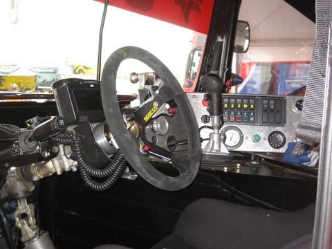 El interior del MAN poco tiene que ver con el de un camión convencional by you.