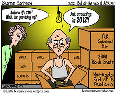 1 3 09  Bearman Cartoon 2012 End of the World ...