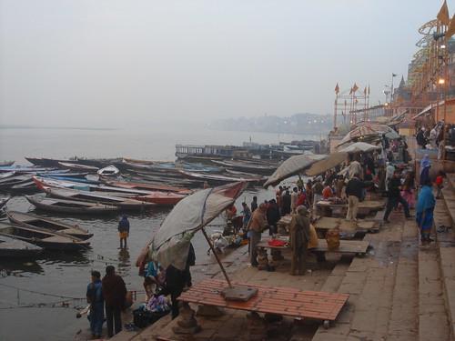 Ganges River1-41日出前的恆河