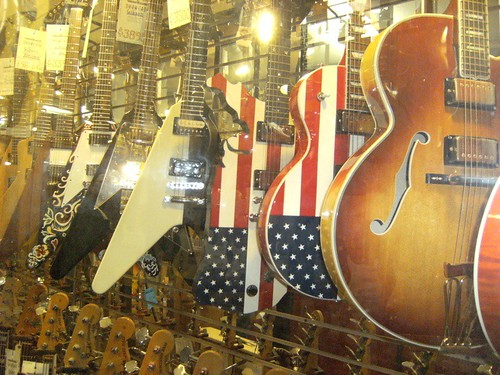 Patriotic Guitars