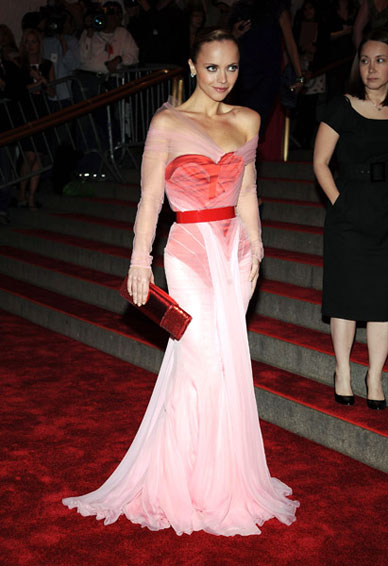 Christina Ricci in Givenchy Haute Couture