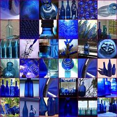 Blue bottles #2