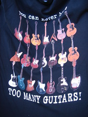 You can never have too many guitars