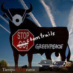 Toro de Osborne Greenpeace
