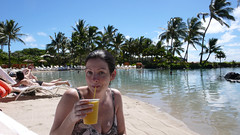 Sipping a Cocktail at the Lagoon