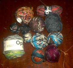 Baby sock yarn