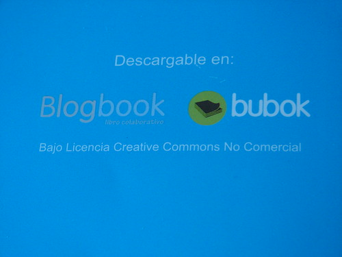 Contraportada de Blogbook