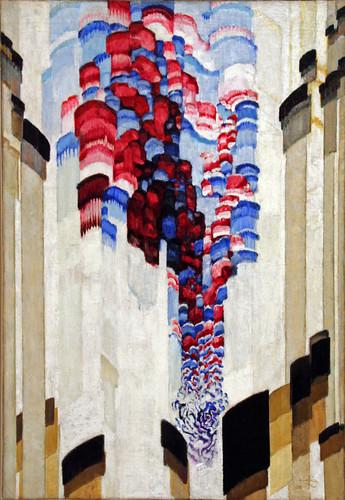 Frantisek Kupka - Spouting (Swirling) by ahisgett.