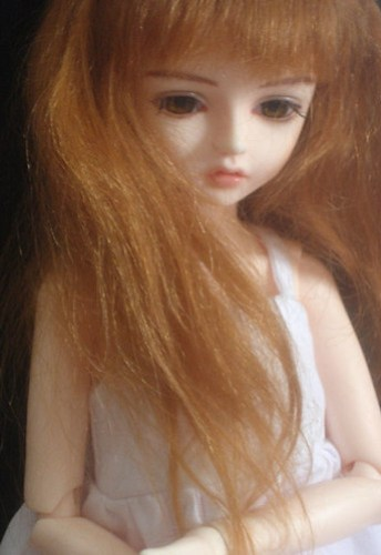 Yern with mohair wig