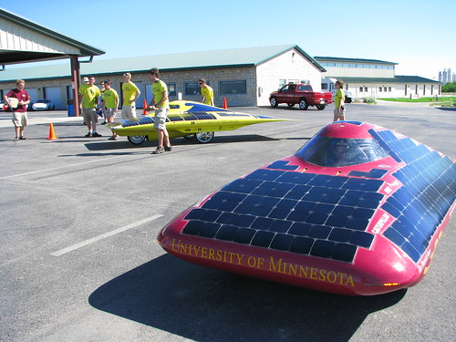 University of Minnesotas 2008 Solar Challenge Vehicle