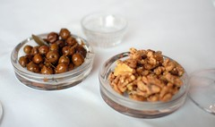 Olives and Spiced Walnuts