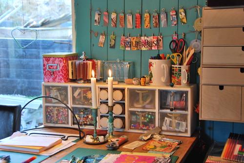 Mille idee per organizzare la propria craftroom o stanza