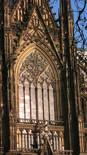 Kölner Dom - gotisches Fenster
