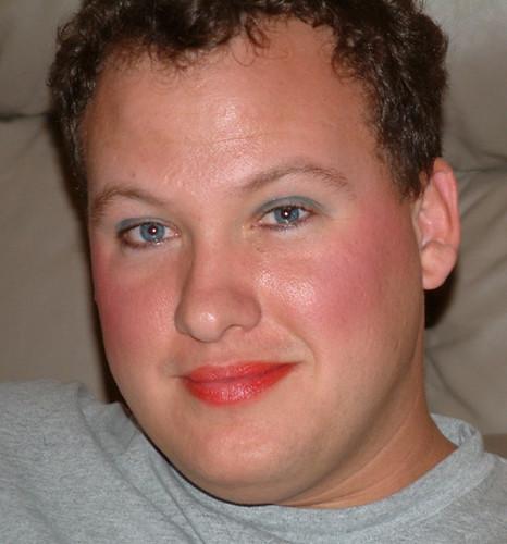 Donny in Makeup